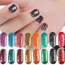 Crack Glue Nail Art Soak Off Uv Gel Ful Crackle Lacquer Cracking Shatter Nails How To Remove From Sugarbeauty