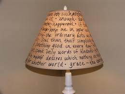 Image Of Lamp Shade Diy Styles