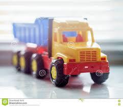 Toy Dump Truck Close Up Stock Image. Image Of Automotive - 82157271