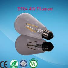 led production line a60 st64 g45 g125 led filament l bulb e27