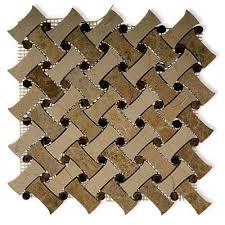 soho studio corp fancy weave mosaic tile colors