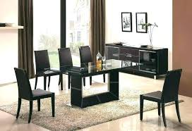 Glass Top Dining Room Tables Montreal Cheap Table Modern Designs Gla