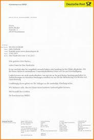 Brief Absender Anschrift