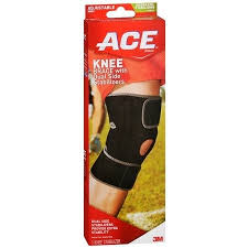 ace knee brace with dual side stabilizers model 200290 one size