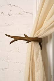 Antler Curtain Tie Backs by Modern Curtain Holdbacks Foter