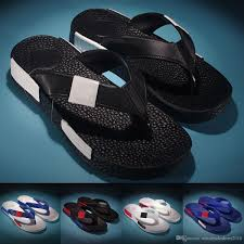 new 2017 summer style shoes mens sandals fashion brand slippers