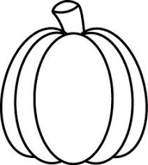 Black and White Autumn Pumpkin