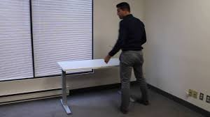 Humanscale Float Standing Desk by Setup Teknion Livello Counterbalance Youtube
