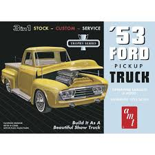 AMT 1/25 1953 Ford Pickup Truck 3 In 1 Stock - Custom - Service #882 ... Free Images Motor Vehicle Ford Antique Car Pickup Truck Hot Amt 125 1953 Ford Pickup 3 In 1 Stock Custom Service 882 Top 5 Mad 66 Trucks And Pickups For Extreme Offroading 1950 Chevy Truck Hot Rod Network Hot Wheels Shop Trucks Custom 62 Chevy Pickup Boss Company Practical That Make More Sense Than Any Massive Modern Previews Suvs Debuting At Sema Autoguide 1966 Ford F100 12 Ton Short Wide Bed Cab Truck Lego Pinterest Trucks Lego Yellow Retro 1960s Chevrolet Photo Flatbeds Highway Products