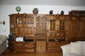 wohnzimmer schrank echtholz massiv modular schrank top zustand
