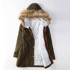 2017 2016 plus size winter coat women cotton padded lining winter