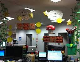 Cubicle Decoration Themes For Competition by Office Halloween Decorating Themes We Had A Cubicle Decorating