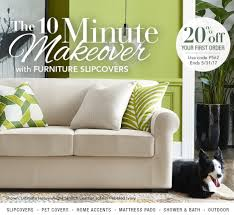Sure Fit Wing Chair Recliner Slipcover by Better Homes And Gardens Sure Fit Slipcovers