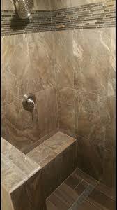 interior mosaic porcelain cancos tile for interesting shower area