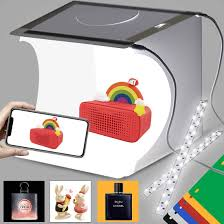 104 Studio Tent Buy Duclus Mini Photo Light Box Photo Shooting Kit Portable Folding Photography Light Kit With 40pcs Led Light 6 Kinds Color Backgrounds For Small Size Products Online In Taiwan B07tnpz6hr
