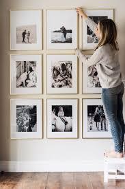picture frame wall fotowand gestalten einfaches wohndekor