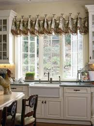 kitchen door treatments style kitchens valances window curtains