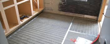 diy radiant floor heating heated tile floor pros and cons radiant