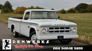 100 1968 Dodge Truck D200 Camper Special DENWERKS YouTube