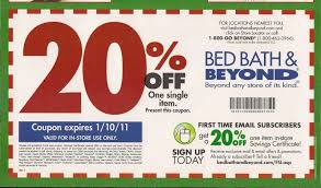 bed bath and beyond free coupon and shopping guide