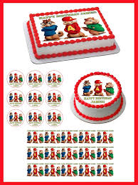 Alvin And The Chipmunks Cake Decorations by Alvin And The Chipmunks Road Chip 2 Edible Cake Topper U2013 Edible