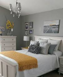 Bedroom Yellow Grey Decor On Intended Best 10 Gray Bedrooms Ideas Pinterest 14