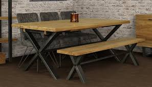 100 Large Dining Table With Chairs Brooklyn 4 AHF Furniture