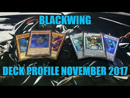 Yugioh Deck List Blackwing by Deck Profile Blackwing Novembro 2017 Link Format