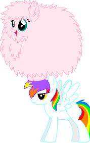 Pink Fluffy Unicorns Dancing On Rainbows By RazieFim