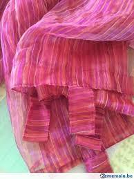 rideaux voilage 2 pans casa prête à l emploi avec pattes a