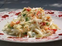 cuisiner le chou blanc en salade coleslaw passe moi ta recette