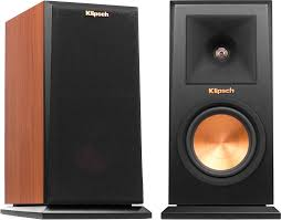 Klipsch Reference Premiere RP 150M Cherry Bookshelf speakers at