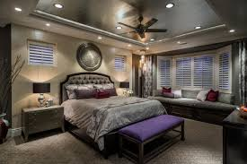 Contemporary Glam Master Suite 2014 HGTV