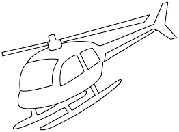 New Helicopter Coloring Pages Best KIDS Design Ideas