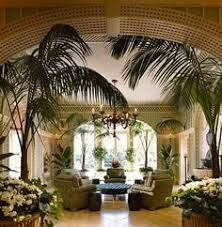 Green And Cream Trellised Garden Room In An Absolutely Enormous Georgian Revival Style Pile Dallas