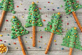 Halloween Pretzel Rods by Festive Christmas Tree Pretzel Rods