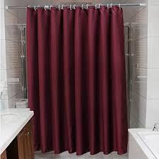 shower curtain normallack wein rot badezimmer vorhang hotel
