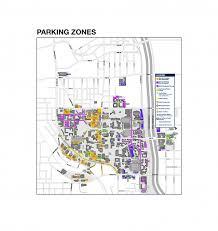 parking maps zones parking transportation services georgia