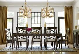 Kitchen Table Chairs Under 200 by Universal California Hollywood Hills 9 Piece Dining Set With