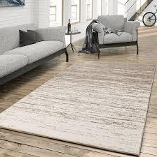 teppich für das wohnzimmer farbverlauf modern creme beige größe 160x230 cm