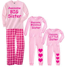 Amazon.com: Footsteps Clothing Awesome Big Middle Or Little Sister ...