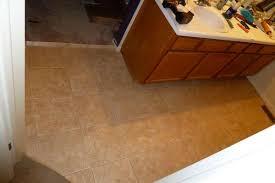 Tiling A Bathroom Floor On Plywood by Vinyl Tiles In Bathroom Need 1 4