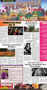 Waterman Pumpkin Patch Indianapolis by 10 13 17 Springville Times By Ellicottville Times Issuu