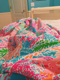 Lilly Pulitzer forters