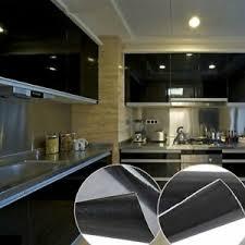 10m schwarz möbelfolie klebefolie küche deko folie