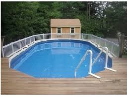 Above Ground Pool Ladder Deck Attachment by Above Ground Pool Fence Kit 36