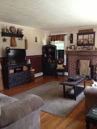 Primitive Living Rooms Decor By Room And Country Home