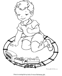 Kid Coloring Pages 010