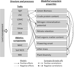 si e social du cr it agricole plant trait based models identify direct and indirect effects of