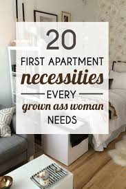 First Apartment Decorating 20 Necessities Every Grown Ass Woman Needs Best Creative